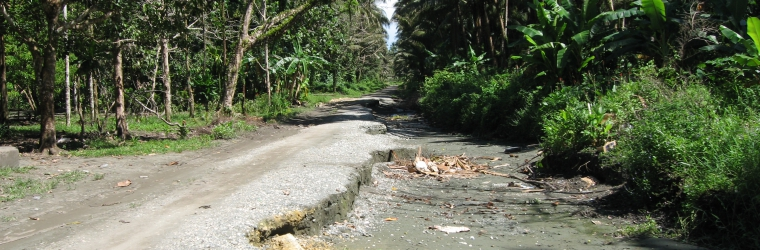 Coastal Road in Guadalcanal